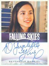 "SEYCHELLE GABRIEL ""LOURDES AUTOGRAPH CARD"" FALLING SKIES SEASON 2"