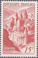 FRANCE TIMBRE NEUF N° 792 ** abbaye de conques