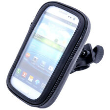 "Waterproof Bicycle Bike Mount Holder Case Cover Cell Phone 6"" iPhone Samsung"