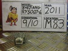 2011 ZHEJIANG RY50QT-4  REGULATOR RECTIFIER 750 MILES  (M83)