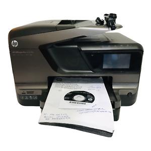 HP OfficeJet Pro 8600 Plus All-In-One WiFi Inkjet Printer Manual CD USB Pwr Cord
