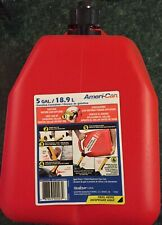 Scepter Ameri Can Gasoline Fuel Jerry Can Jug 5 Gallon Container Spill Proof 18l