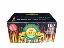 Fire Starters - For Quickly Starting Any Fire For Barbeques Or Wood Stoves
