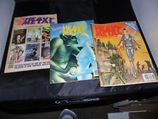 Heavy Metal Lot of 3 books June 1982 September 1985 and January 1987