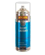 Hycote Clear Lacquer Car, Van, Bike Spray Paint / Aerosol 400ml On Sale