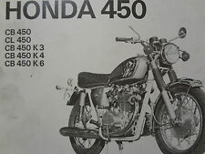 Reparaturanleitung, Werkstatthand-Buch, HONDA CB450 K3,4,6, CL450, Band 520