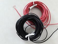 2 pcs Power or Ground copper wires 10AWG each at 76""