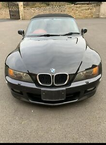 BMW Z3 Bonnet in Cosmos Black With Badge But No Grill Roadster  E36 8398652 4/2