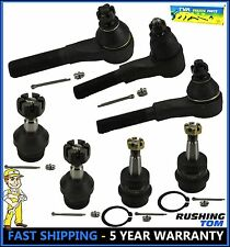 7 Pcs Front Ball Joints & Tie Rod Ends Jeep Grand Cherokee Wrangler ES3094 K3134