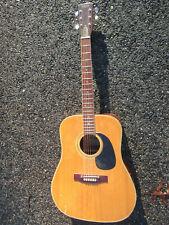 Vintage 70s Kingston Teisco Custom Dreadnaught Guitar Korea Slide/As-Is