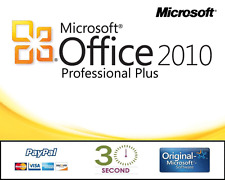 Microsoft Office Professional Plus 2010 für 1 PC - 32/64 Bit - PRO VOLLVERSION
