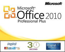 Microsoft Office Professional Plus 2010 für 1 PC - 32/64 Bit - PRO VOLLVERSION