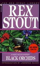 Nero Wolfe Ser.: Black Orchids 9 by Rex Stout (1992, Paperback)