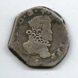 ITALY SICILY SCARCE SILVER COIN 2 TARI 1620 I P MESSINA MINT