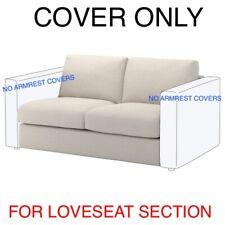 Ikea Vimle Cover Slipcover For Loveseat Section 103.510.21 Gunnared Beige