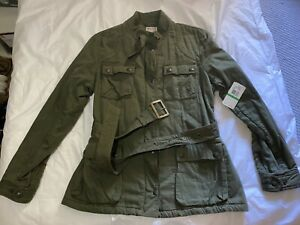 NWT 🔥 Polo Ralph Lauren  Military Jacket Size Large Green