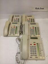 - LOT OF 5  NORSTAR NORTEL T7208 NT8B26AABB (ASH)  Telephone