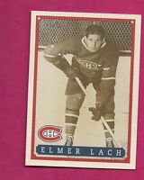 RARE 1992-93 OPC #  34 CANADIENS ELMER LAKE  FANFEST LIMITED /5000 CARD