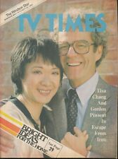 THE WINDSOR STAR TV TIMES 1981 MAY 16-23 TISA CHANG (FAIR/GOOD CONDITION)