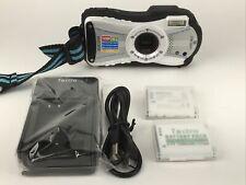 Ricoh WG-20 Digital Camera- 14MP 5x Zoom, Water/Shock/Cold/Crush Proof, 2 Batt