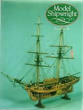 Model Shipwright No 90  (Conway 1994 1st) with Modellers Draught plan
