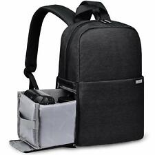 """Camera Bag Backpack Case with 14"""" laptop Compartment for Sony Canon Nikon Dslr"""