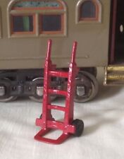Luggage trolley or hand truck accessory, Standard Gauge model train platform