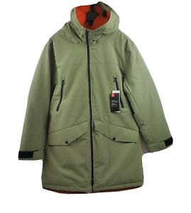 Under Armour Men UA Urban Tech Hooded Green Parka Down Coat 1328240 308 Size XL