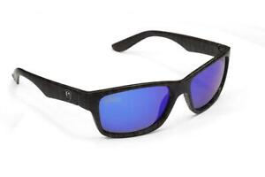 Fox Rage Eyewear Camo Frame - Grey Lens Mirror Blue Polarised Sunglasses