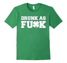 Drunk a* F*  Funny st patricks day Green Green Men's T-Shirt