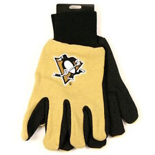 Pittsburgh Penguins Two-Tone Utility/Work Gloves