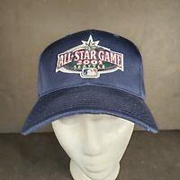 2001 Seattle MLB Baseball All Star Game Blue Snapback Hat Cap Mariners NWOT