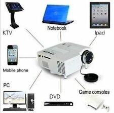 1080-HD Mini Multimedia Projector Home Cinema Theater For PC/KTV/iPhone/iPad/DVD