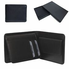 Golunski BM-606: Mens Quality Smooth Leather Notecase In Black.