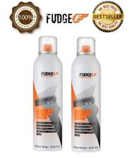 2 X Official Fudge Think Big Texture Spray 250ml
