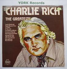CHARLIE RICH - The Greatest - Excellent Condition LP Record Hallmark SHM 839