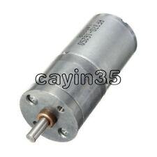 Reductor De Velocidad Micro Motor Eléctrico 12 V DC 60 Rpm Potente Torque 25 mm de diámetro