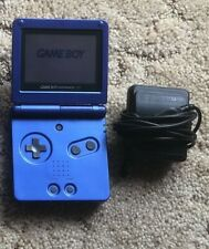 Nintendo GameBoy Advance SP AGS-001 Cobalt Blue Handheld System w/ Charger