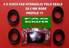 4 X  H2830  F.A.G (SCHAFER) HYDRAULIC POLO SEALS  28.5MM PROFILE 11