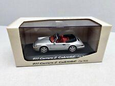 1:43... Minichamps -- Porsche 911 carrera 2 cabriolet tipo 964 en OVP/4 B 859