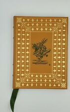 ALICE'S ADVENTURES IN WONDERLAND by Lewis Carroll Franklin Library Leather 1975