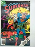 SUPERMAN #314 DC 1977 BRONZE AGE COMIC SUPERMAN WILL KILL!