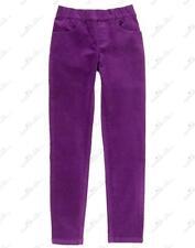NWT Gymboree Prima Ballerina Girls Violet Velveteen Super Skinny Pants, Size 5
