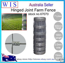 Hinge Joint Fencing wire,Rural Boundary fence,7/90/15 x 100m,37.5Kg/Roll-67070