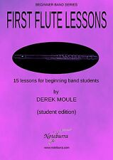 FIRST FLUTE LESSONS - brand new flute tutor book