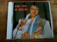 RARE ELVIS PRESLEY CD - KING TIME IN ABILENE - STAGE ENTERTAINEMENT