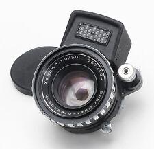 Rare Schneider 50mm 1.9 Xenon Prime Lens + Built in Selenium Meter - Exakta NICE