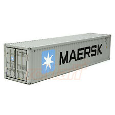 Tamiya 1:14 Semi Trailer Maersk Container 40 Ft EP RC Car Tractor Truck #56516