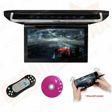 "10"" Car Roof Mounted Flip Down Monitor Digital TFT Screen DVD Player HDMI/USB/SD"