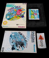 TWIN BEE Twinbee MSX Msx 2 Konami RC740 Japones Complet Good Condition